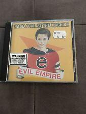 Music Cd - Rage Against The Machine - Evil Empire Album Great  Listening