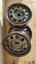 """4 Cerchi in Ferro Alfa Romeo 156 147da 15"""" USATI ma pari al nuovo"""