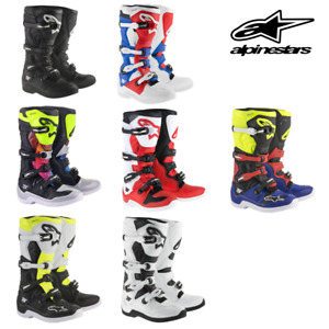 Alpinestars Tech 5 Motocross Motorcycle Off Road Boots Dirt Bike MX | Closeout