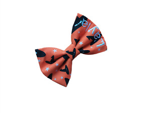 HALLOWEEN Personalised Dog Cat Bow Tie - WITCHES