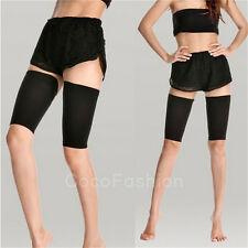 Women 420D Thin Leg Thigh Shaper Burn Fat Socks Compression Stovepipe WarmerHU