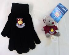 WEST HAM UNITED BAG BUDDY & MAGIC GLOVES SET OFFICIAL MERCHANDISE