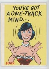 1961 Donruss Idiot Cards #41 You've got a one-track mind Non-Sports Card 1x2