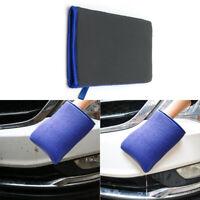 Car Wash Magic Clay Bar Mitt Cloth Auto Care Cleaning Towel Microfiber Sponge