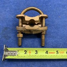Direct Burial Copper Ground Clamp 1 58 1 78 Rod New Free Shipping