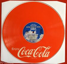 ABBA -Slipping Through My Fingers- Rare Japanese 'Coca-Cola' Picture Disc LP