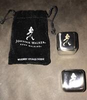 New Johnnie Walker Stainless Steel Whiskey Stones