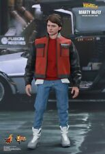 """Back to The Future II Marty McFly 1/6 Scale Hot Toys 12"""" Figure Mms379"""