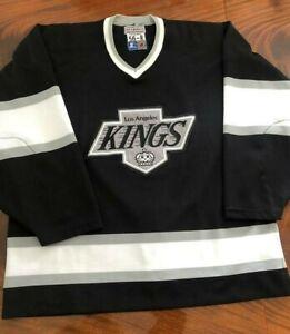 Auth Pro 56 90s Los Angeles LA Kings Vtg Starter Jersey Blank Reverse Retro