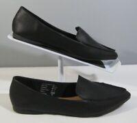 New Women's Brash 180488 Fern Style Black Slip On Flats Shoe Size 7 Pointed Toe