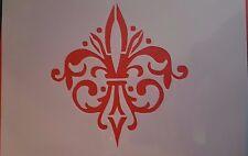 Schablonen 1173 Vintage Stanzschablone Möbel Wandtattoos Stencil Fotowand Mylar