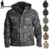 Mens Army Tactical Jacket Military ECWCS G8 Coat Waterproof Fleece Parka Kryptek