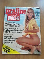 PRALINE AKTUELLE WOCHE Nr.40 / 27.9 /1972 / FREIZEIT- EROTIK  MAGAZIN,Busen,FKK
