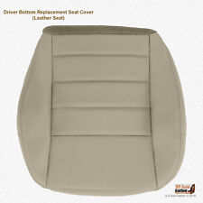 2006 2007 2008 2009 2010 Dodge Charger SXT DRIVER Bottom Gray Leather Seat Cover