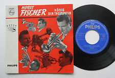 "7"" Horst Fischer - König Der Trompeter - VG++ Philips 423 232 PE Haunted Guitar"