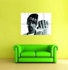 Snoop Dog RNB Rapper Hip Hop Música Estrella gigante nuevo Póster Foto Impresión de Arte