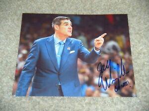 JAY WRIGHT signed VILLANOVA WILDCATS 8x10 photo NCAA final 4 CHAMPS B