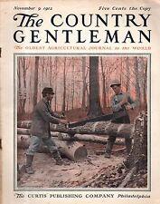 1912 Country Gentleman November 9 - Lumberjacks; Is Pennsylvania lagging behind?
