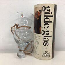 Rare Holmegaard Mid-Century Danish Neck Glass Design by Christer Holmgren #924