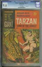 TARZAN LORD OF THE JUNGLE #1 CGC 9.6 WHITE PAGES