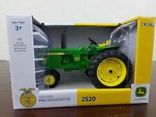 Ertl 1/16 Scale John Deere 2520 Tractor with FFA Logo Metal Die-Cast