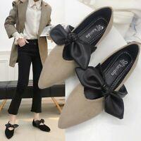 Fashion Women Bow Flats Shoes Slip On Flat Shoes Ballet Flats Ladies Shoes