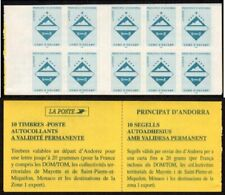 Andorra, French Administration Scott #477a VF MNH 1997 Arms of Encamp Booklet