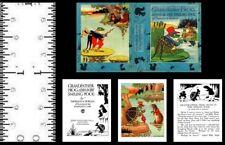 1:12 Scale Miniature Book Grandfather Frog Thornton Burgess Dollhouse