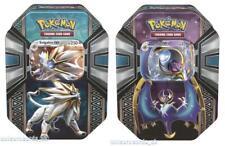 Pokemon TCG: Legends of Alola Tins x2 : Solgaleo GX + Lunala GX :: Brand New And
