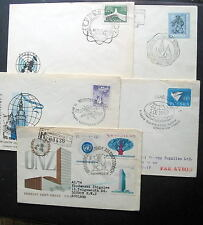 POLAND 5 COVERS LOT g