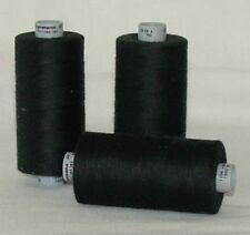 Gütermann SILK Thread Tex 30 ONE (1) Spool 1,094yd Black