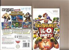 Facebreaker K.O. Party Nintendo Wii Boxing Spiel
