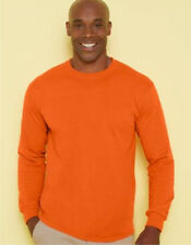 12 FRUIT OF THE LOOM LONG SLEEVE T-SHIRTS (S-XL) COLORS