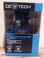 CE E - Tech in Ear Headphones / Earbuds with Carrying Case / IPod or Smartphone