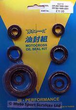 Engine Oil Seal Kit Honda CR 250 1988-1991 CR 500 1989-2001 CR250 CR500 Mitaka
