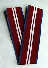 Canada Canadian Queen Elizabeth II Diamond Jubilee Medal Full Size Ribbon