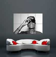WIZ KHALIFA RAPPER HIP HOP MUSIC GIANT WALL ART PRINT POSTER PICTURE WA170