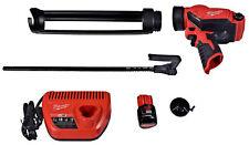 Milwaukee M12 Fuel 2444-21 12V Quart Caulk And Adhesive Gun Kit