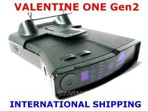 VALENTINE ONE V1 Gen2 Radar Laser Detector SAW-D2L LNA Tech US CA EU AU NZ INT'L