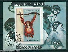 Ajman Block A 530 B , o , Motiv Tiere - Affen