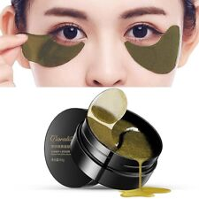60Pcs Black Pearl Anti-Wrinkle Dark Circle Collagen Under Eye Patches Mask