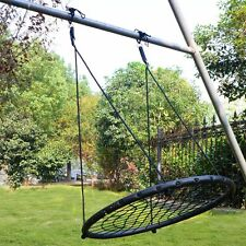 "40"" Wide Tree Net Swing Outdoor Spider Web Swing Children's Net Swing Adjustable"