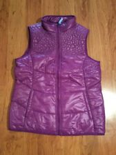 Girls Lands End Kids Vests Purple Size XL 16