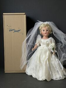 """MIB Mary Hoyer 14"""" Vinyl Bride Doll"""