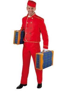 Page Pagen Boy Hotel Diener Zimmerdiener Liftboy Hausboy Kostüm Anzug Junge Hut