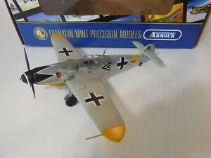 Franklin Mint, Bf 109G Messerschmitt, Ace Maj Eric Hartmann, 1:48, Diecast, Used