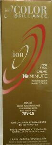 ion Color Brilliance PPD Free 10 min 7RV - 7.5 Medium Burgundy Blond