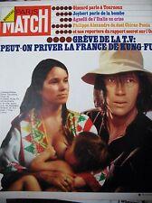 PARIS MATCH N° 1312 DAVID CARRADINE SERIE KUNG-FU ITALIE AGNELLI GREVE TV 1974