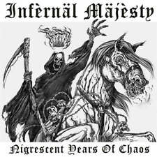 "INFERNAL MAJESTY - Nigrescent Years Of Chaos - Vinyl-LP+ 7"" - purple Vinyl"