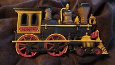 "Vintage Homco Hard Plastic Steam Train Wall Plaque 11"" X 6 5/8"" Nice"